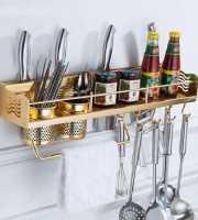 Golden Kitchen Shelf-1127